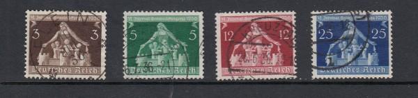 Deutsches Reich Mi-Nr. 617-620 gestempelt