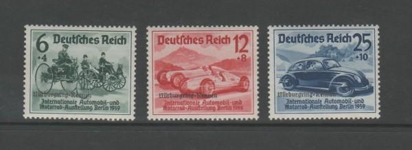 Deutsches Reich Mi-Nr. 695-697 ** postfrisch