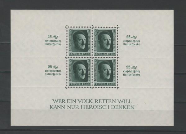 Deutsches Reich Mi-Nr. Block 11 ** postfrisch
