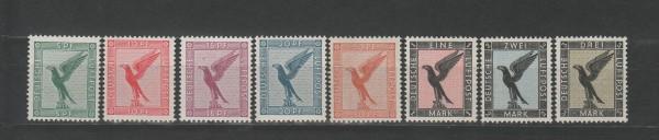 Deutsches Reich Mi-Nr. 378-384 ** postfrisch