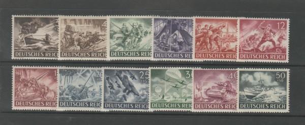 Deutsches Reich Mi-Nr. 831-842 ** postfrisch