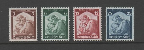 Deutsches Reich Mi-Nr. 565-568 ** postfrisch