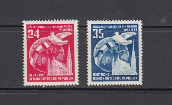 DDR Mi-Nr. 320-321 ** postfrisch