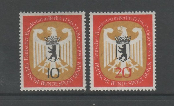 Berlin Mi-Nr. 129-130 ** postfrisch