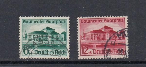 Deutsches Reich Mi-Nr. 673-674 gestempelt