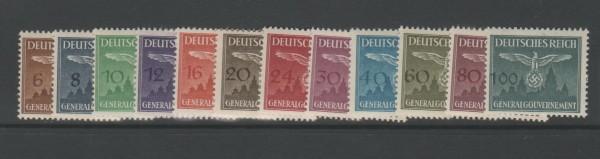 Generalgouvernement Dienstmarken Mi-Nr. 25-36 ** postfrisch