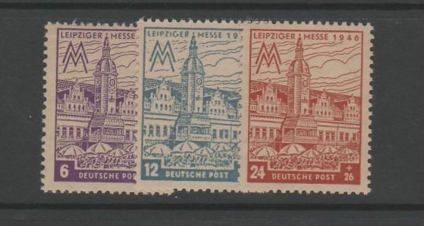 SBZ West-Sachsen Mi-Nr. 162AZ-165AZ ** postfrisch