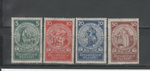 Deutsches Reich Mi-Nr. 351-354 ** postfrisch