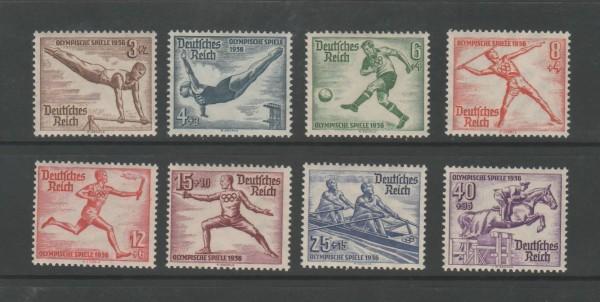 Deutsches Reich Mi-Nr. 609-616 ** postfrisch
