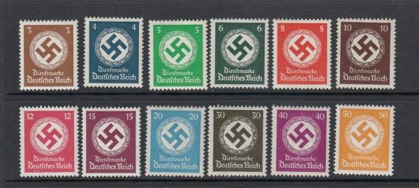 Deutsches Reich Dienst Mi-Nr. 132-143 ** postfrisch