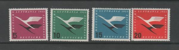 BRD Mi-Nr. 205-208 ** postfrisch