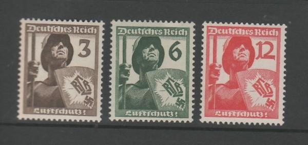 Deutsches Reich Mi-Nr. 643-645 ** postfrisch