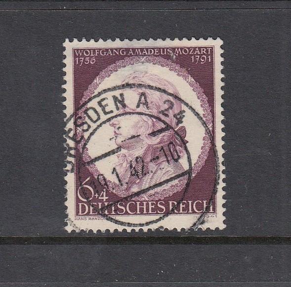Deutsches Reich Mi-Nr. 810 zentrisch gestempelt Dresden