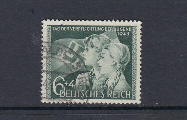 Deutsches Reich Mi-Nr. 843 gestempelt