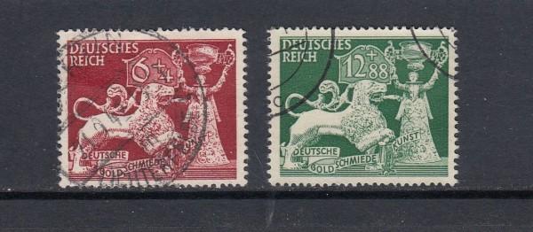 Deutsches Reich Mi-Nr. 816-817 gestempelt