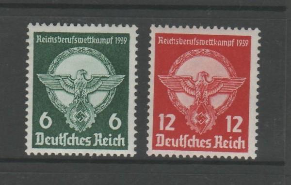 Deutsches Reich Mi-Nr. 689-690 ** postfrisch