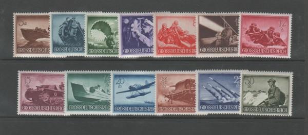 Deutsches Reich Mi-Nr. 873-885 ** postfrisch