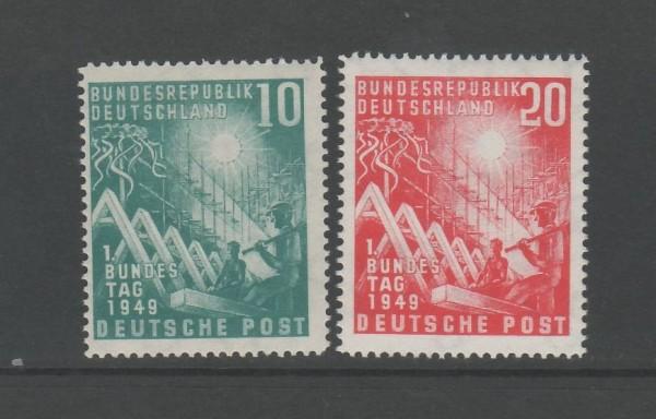 BRD Mi-Nr. 111-112 ** postfrisch