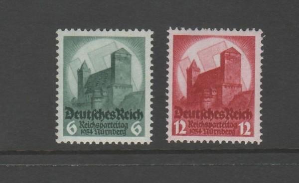 Deutsches Reich Mi-Nr. 546-547 ** postfrisch