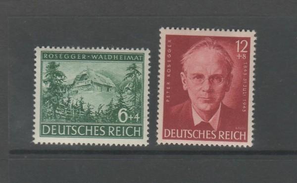 Deutsches Reich Mi-Nr. 855-856 ** postfrisch