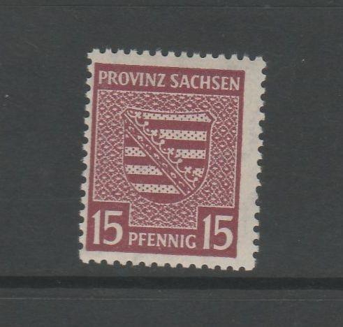 SBZ Ost Sachsen Mi-Nr. 80 X ** postfrisch