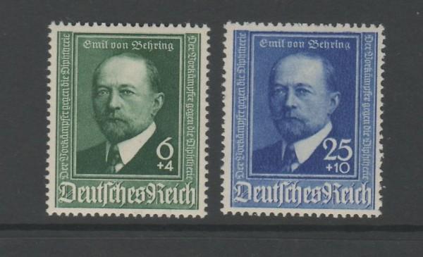 Deutsches Reich Mi-Nr. 760-761 ** postfrisch