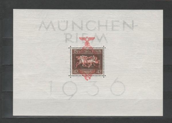 Deutsches Reich Mi-Nr. Block 10 ** postfrisch