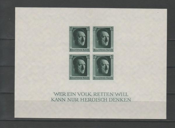 Deutsches Reich Mi-Nr. Block 8 ** postfrisch