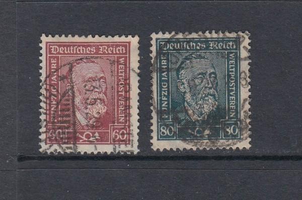 Deutsches Reich Mi-Nr. 362-363 gestempelt
