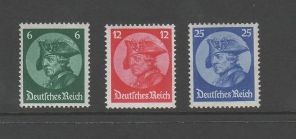 Deutsches Reich Mi-Nr. 479-481 ** postfrisch