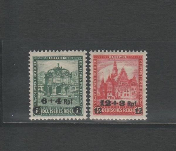Deutsches Reich Mi-Nr. 463-464 ** postfrisch