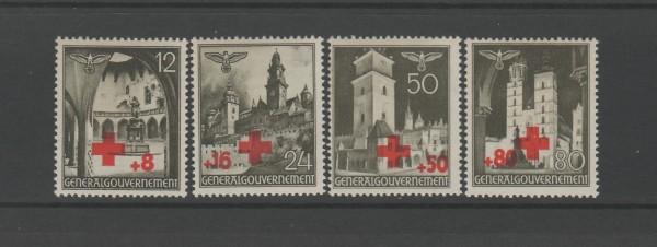 Generalgouvernement Mi-Nr. 52-55 ** postfrisch