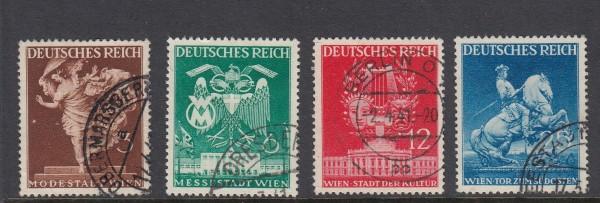 Deutsches Reich Mi-Nr. 768-771 gestempelt