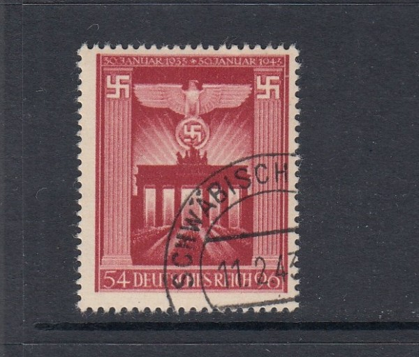 Deutsches Reich Mi-Nr. 829 gestempelt