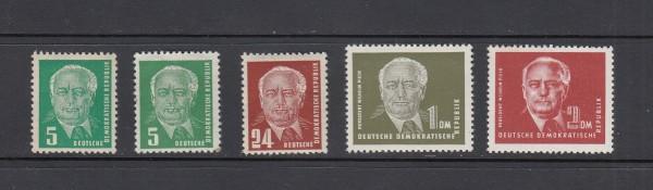 DDR Mi-Nr. 322-326 ** postfrisch