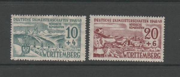 Französische Zone Württemberg Mi-Nr. 38-39 ** postfrisch