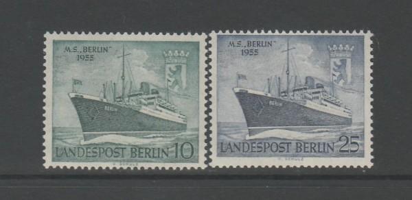 Berlin Mi-Nr. 126-127 ** postfrisch