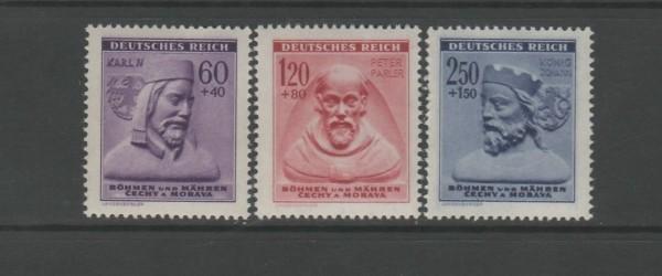 Böhmen und Mähren Mi-Nr. 114-116 ** postfrisch