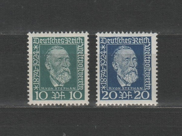 Deutsches Reich Mi-Nr. 368-369 ** postfrisch