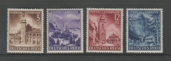 Deutsches Reich Mi-Nr. 806-809 ** postfrisch