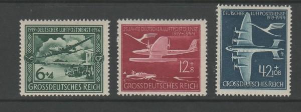Deutsches Reich Mi-Nr. 866-868 ** postfrisch