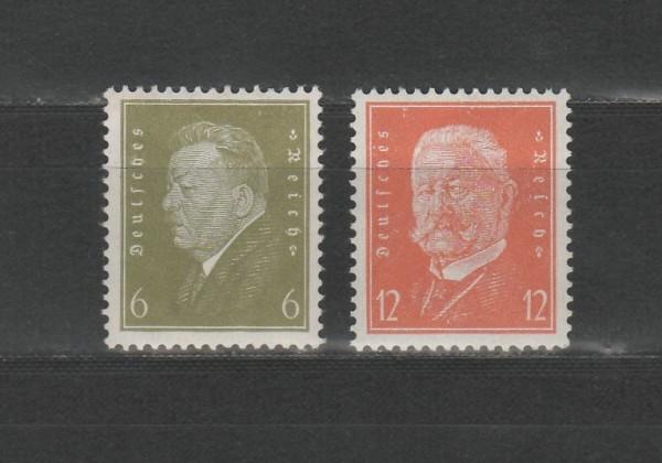 Deutsches Reich Mi-Nr. 465-466 ** postfrisch