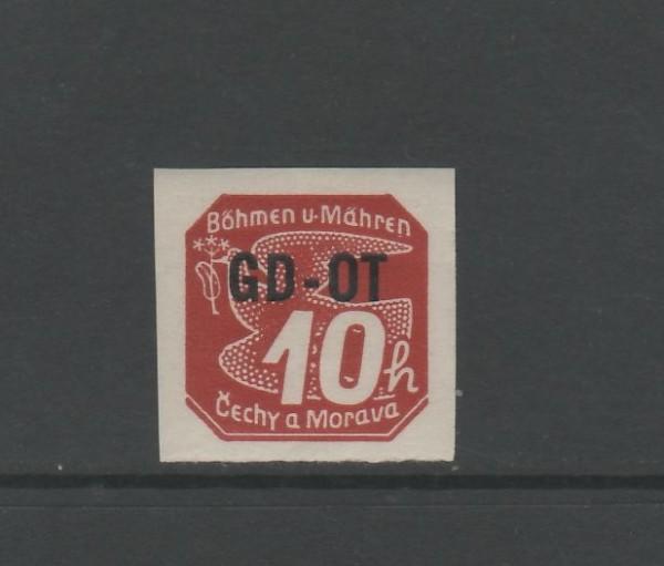 Böhmen und Mähren Mi-Nr. 51 ** postfrisch