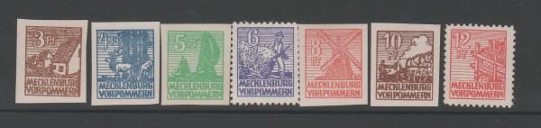 SBZ - Mecklenburg-Vorpommern Mi-Nr. 29-36 x ** postfrisch