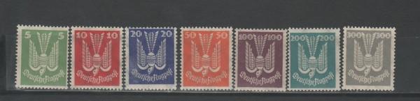 Deutsches Reich Mi-Nr. 344-350 ** postfrisch