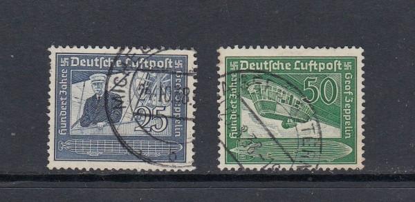 Deutsches Reich Mi-Nr. 669-670 gestempelt
