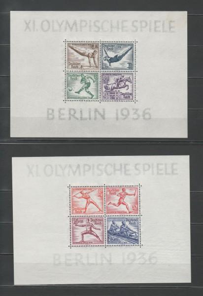 Deutsches Reich Mi-Nr. Block 5+6 ** postfrisch
