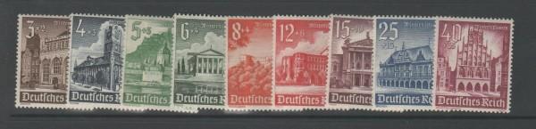 Deutsches Reich Mi-Nr. 751-759 ** postfrisch