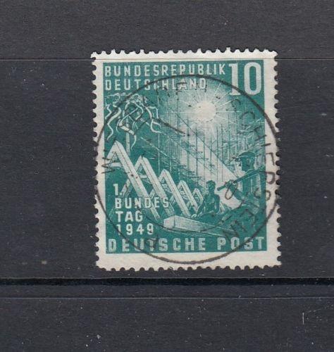 Luxus BRD Mi-Nr. 111 zentrisch gestempelt Wiesbaden