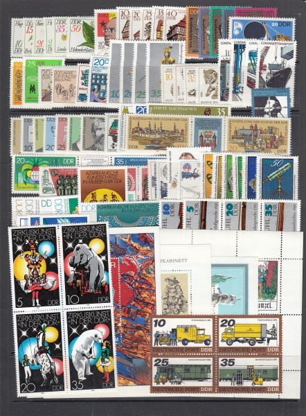 DDR Jahrgang 1978 ** postfrisch - komplett